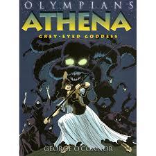 athena grey eyed goddess olympians 2 by george o u0027connor