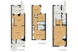 row home plans floor plan row house house design plans