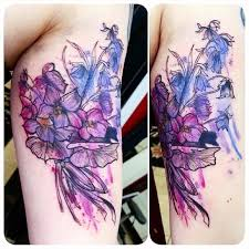 the 25 best violet flower tattoos ideas on pinterest violet