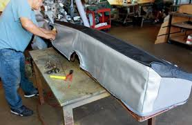 How To Sew Car Upholstery How To Re Cover A 1957 Chevrolet 210 Factory Bench