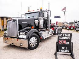 kenworth tractor trailers for sale used 2015 kenworth w900l tri axle sleeper for sale in ms 6365