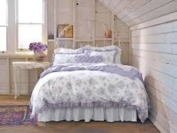 shabby chic floral bedding elegant chic bedroom with white table