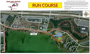 Canandaigua New York Map by Course Info