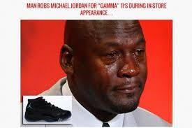 marco acosta quot sin pelos michael jordan robbed at gunpoint for air jordan gamma blue 11s