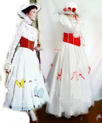 Galadriel Halloween Costume Custom Mary Poppins Costume Size Red Satin Corset