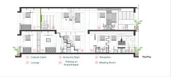Amphitheater Floor Plan by The Interiors Of An Architect U0027s Office U2013 Architecture U0026 More By