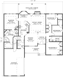 ranch house floor plans open plan ranch house plans with open floor plan home act