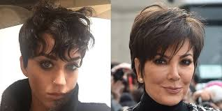 kris jenner hair 2015 katy perry pixie hair cut popsugar beauty australia