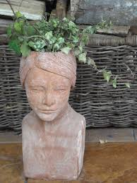 177 best garden heads faces images on