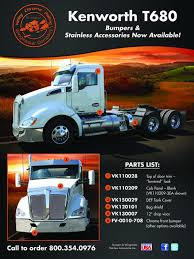 kenworth t680 parts list vcp wingmaster on twitter parts available for the t680 here s a