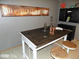Diy Drafting Desk by Diy Bar From Drafting Table Everyday Mrs