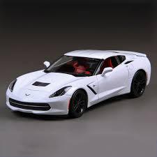 cheap corvette stingray for sale click to buy 1 18 diecast car corvette c7 z51 white 1 18