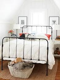 Ideas For Antique Iron Beds Design Decorate In Haunting Style Attic Bedrooms Bedroom Black And Attic
