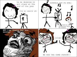 Schools Out Meme - schools out rage comics know your meme