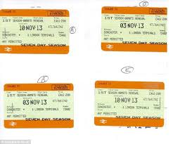 fare dodger who forged fake first class tickets ordered to pay