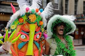 traditional mardi gras costumes similarities between mardi gras festivals