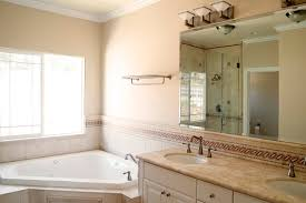 beige color scheme for master bath cabinet square raised panel