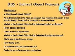 indirect object pronouns iop by szeron via authorstream