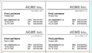 word document business card template 28 images 7 business card