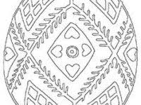 pysanky designs pysanky coloring pages unique five easter eggs coloring page for