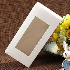 candy boxes wholesale wholesale 7 7 14cm white window box packing custom gift boxes