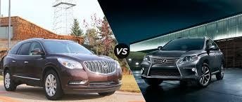 lexus rx vs buick enclave vs 2015 lexus rx 350