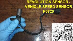 revolution sensor p0720 testing and replacement youtube