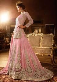 Engagement Lengha Panjabi Lenghas With Choli Buy Online Southall Baby Pink Punjabi