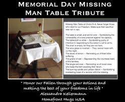 army fallen comrade table script good looking missing man table script gallery of interior set the