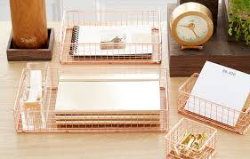 lucite desk accessories russell hazel acrylic tape dispenser u0026 stapler the container store