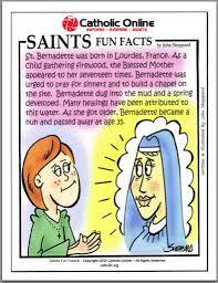 catholic shop online saints facts st bernadette saints catholic saints and