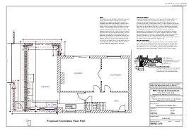foundation floor plan br02 proposed foundation plan