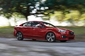 red subaru sedan 2017 subaru impreza first drive review problem solver motor