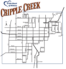 Colorado Map Of Cities by Maps City Of Cripple Creek Colorado