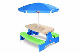 little tikes easy store picnic table little tikes easy store picnic table with umbrella picnic tables