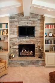 veneer fireplace stone stacked stone veneer fireplace cost