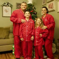 matching family pajamas a new tradition