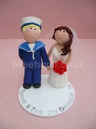 wedding cake toppers and groom sailor groom and wedding cake topper wedding cake