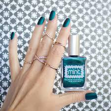 mint polish czarina the perfect emerald 3 ways