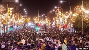 Celebration In Uk Leicester Diwali Celebrations Draw Large Crowds News
