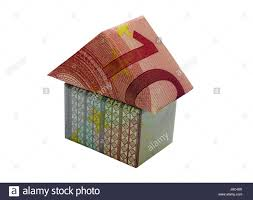 Euro House 20 Euro Note Cut Out Stock Images U0026 Pictures Alamy