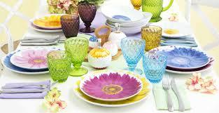 piatti e bicchieri di plastica colorati dalani piatti in melamina colorati praticit罌 e brio in tavola