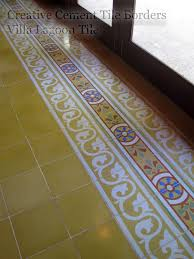 20 best cement tile borders images on cement tiles
