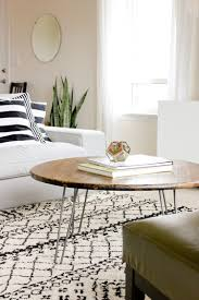 round hairpin coffee table round hairpin coffee table best gallery of tables furniture