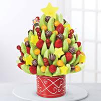 christmas fruit arrangements christmas tree bouquet edible arrangements 115 baskets