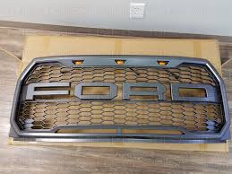 ford raptor grill for 2007 f150 2015 2016 2017 ford f 150 raptor conversion packaged ford letter