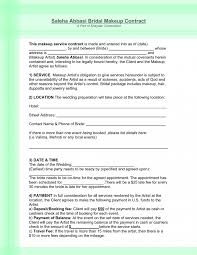 wedding planner contracts agreement party contracts partnership sle template us pictures