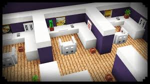 minecraft how to make an office cubicle youtube