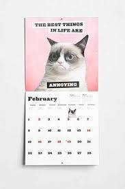 Grumpy Cat Mini Wall Calendar - lucy cat 2018 wall calendar