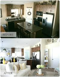 our home tour kitchen and living room
